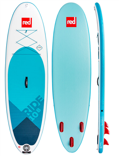 "Red Paddle Co 10'8"" Ride Inflatable Sup 2018 Model"