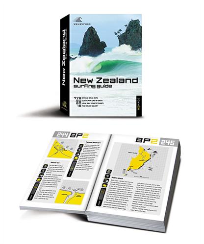 Wavetrack Nz Surf Guide Book
