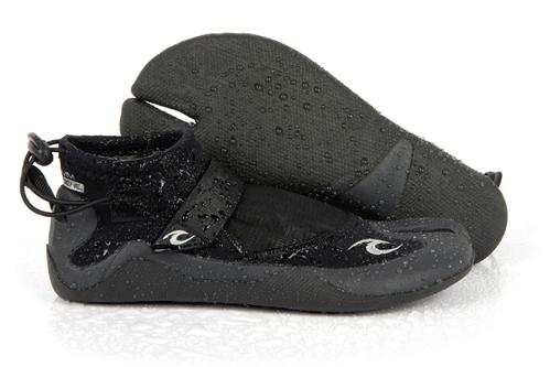 Rip Curl Reefer Boot 1.5Mm Split Toe 5001, Blk Charcoal