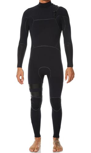 Hurley Mens Advantage Max Superheat 2/2mm Full Suit Wetsuit, 00A