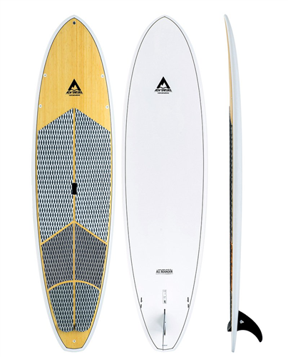 Adventure Paddle Allrounder X2 SUP, Bamboo White