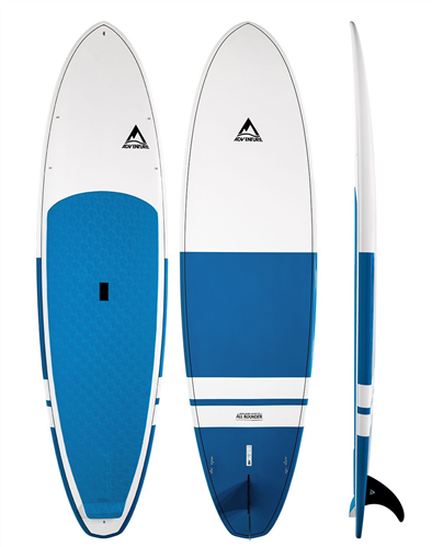 Adventure Paddle All Rounder MX Molded SUP Board, Blue