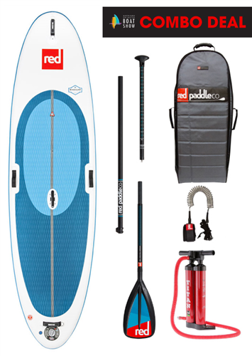 "Red Paddle Co 10'7"" WindSURF Inflatable Sup 2018 Model"