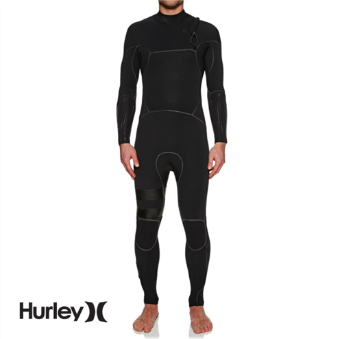 Hurley Mens Advantage Max Superheat 2/2mm Full Suit Wetsuit, 00A