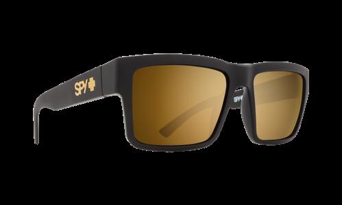 035bec7c0d656 Spy Sunglass Montana Soft Matte Black - Happy Bronze W Gold Mirror ...