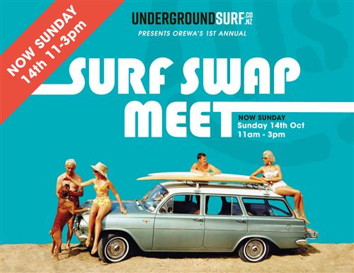 US Surf Swap Meet Registration Booking SUN 14th Oct