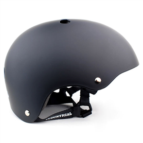 Industrial Skateboard Helmet, Black Small