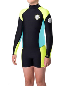Rip Curl Dawn Patrol Youth Springsuit 0010, Yellow