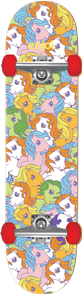 Enjoi My Little Pony Complete Skateboard Soft Wheels, Multi