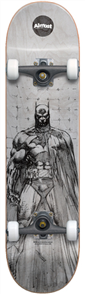 Almost Batman Jim Lee Complete Skateboard, White