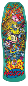 "Santa Cruz Hosoi Collage Candy Mint Reissue 30.125"" x 10"" Deck"