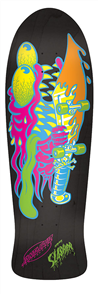 "Santa Cruz Neon Slasher Matte Reissue 31.3"" x 10"" Deck"