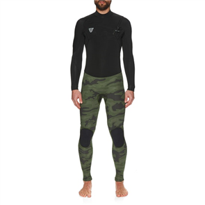 Vissla SEVEN SEAS 3/2mm FULL 50-50 LS STEAMER, BLACK CAMO