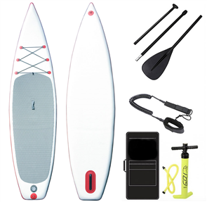 "Blank Inflatable Sup Full Combo - 11' X 32"" X 6"", White Grey"