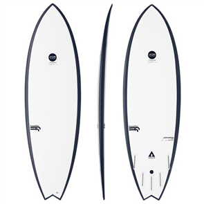 Haydenshapes Hypto Krypto Step Up F-Flex Surfboard, Futures