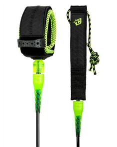 Creatures Of Leisure Grom Lite 5 Leash, Blk/ Lime