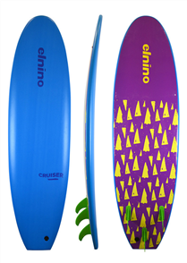 El Nino Cruiser Softboard, Light Blue, 6'6