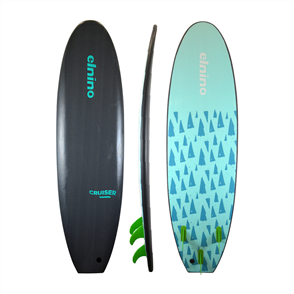 El Nino Cruiser Softboard, Qtz Grey