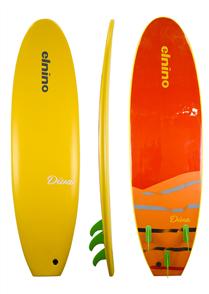 El Nino Cruiser Softboard, Mango, 6'6