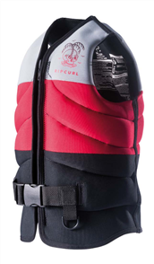 Rip Curl Boys D/Patrol Buoyancy Vest, 0040 Red