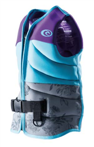 Rip Curl Girls D/Patrol Buoyancy Vest, 0037 Purple