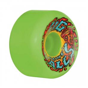 Santa Cruz 65Mm Slime Balls Big Balls Neon Green 97A