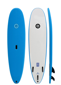 Gnaraloo Beach Cruiser Surfboard, Blue