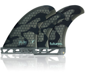 Futures Gerry Lopez GL2 5 Fins Set Honeycomb