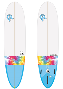 Agenda Surfboard Fun Factory Epoxy (Futures)
