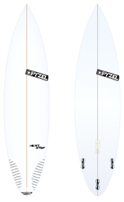 Pyzel Next Step Board with Thruster FCS II Fins