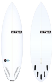 Pyzel Bastard Board with 5 Future Fins