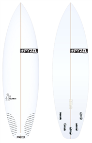 Pyzel Pyzalien Board with 5 FCS II Fins