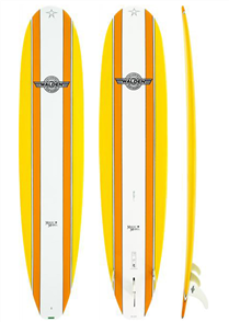 Walden Magic Model X2 Longboard, Yellow, 8'6