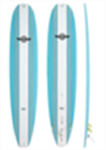 Walden Magic Model X2 Longboard, Dark Blue, 9'6