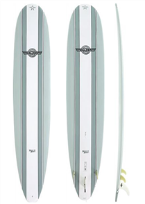 Walden Magic Model X2 Longboard, Grey 10'0