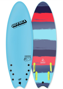 Odysea Skipper Quad Softboard, Cool Blue 18