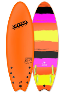 Odysea Odysea Skipper Quad Softboard, Sportif Orange 18