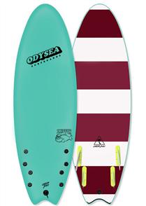 Odysea Skipper Quad Softboard, Turquoise 18
