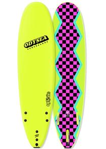 Odysea Log - Thruster Softboard, Electric Lemon 18