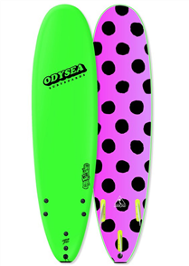 Odysea Log - Thruster Softboard, Lime 18