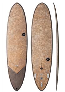 NSP Coco Dream Rider Surf Longboard, Flax