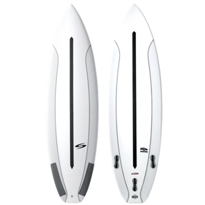 Surftech Pantera Fusion Dual Core Surfboard, White