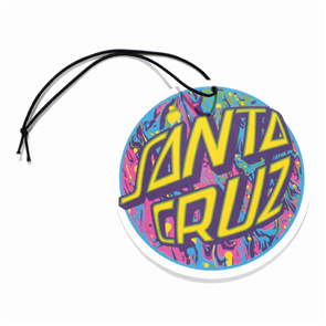 Santa Cruz Spill Dot Air Refreshner, Big Dot