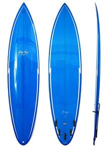 Gerry Lopez Pocket Rocket PU Tri-fin, Blue, 7'4