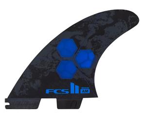 FCS II AM PC Medium Cobalt  Thruster Set