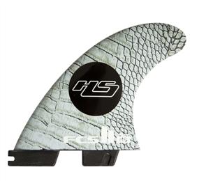 FCS II HS PC Carbon Medium Tri-Quad Fin Set