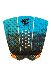 Creatures Of Leisure MINI GRIFFIN SURF GRIP PAD, CYAN FADE ORANGE