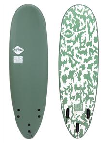 FCS Bomber FCS II Softboard, Smoke Green/White