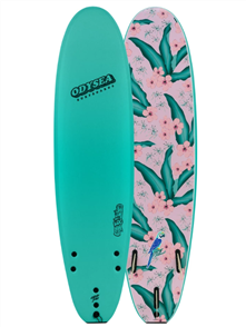 Odysea 8-0 Log- Johnny Redmond Surfboard, Turquoise