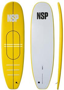 "NSP Teacher's Pet 7'0"" Softboard Yellow"